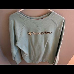 Teal Champion Sweatshirt